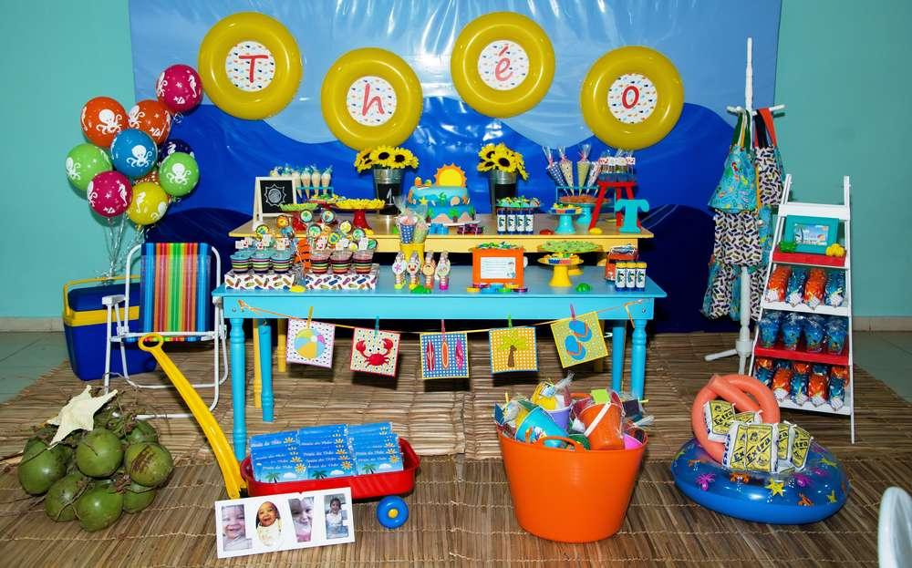 beach birthday party birthday party ideas themes