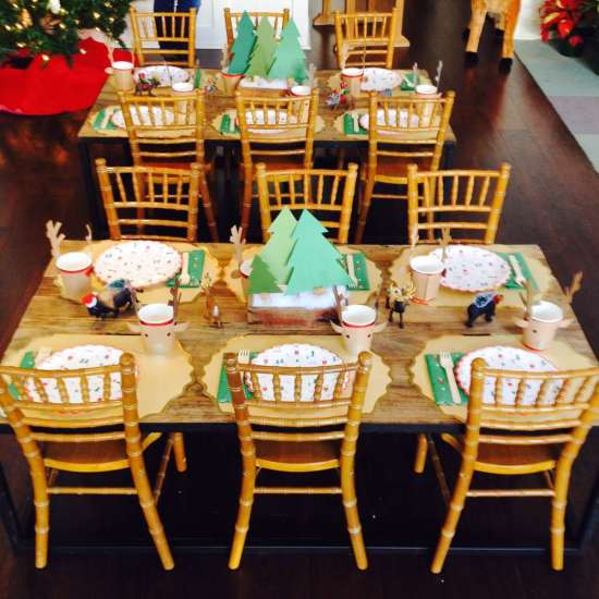 Woodland Christmas Birthday Party - Birthday Party Ideas ...