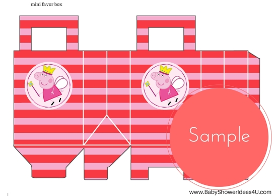 FREE_peppa-pig-party-printable A4 favor bags
