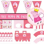FREE Princess Peppa Pig Printable