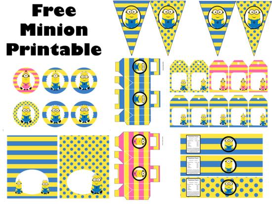 free-despicable-me-yellow-pink-minon-party-PRINTABLE-ORIGINAL