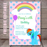 free-editable-my-little-pony-party-invitation