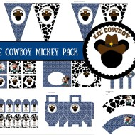 Free Cowboy Mickey Mouse