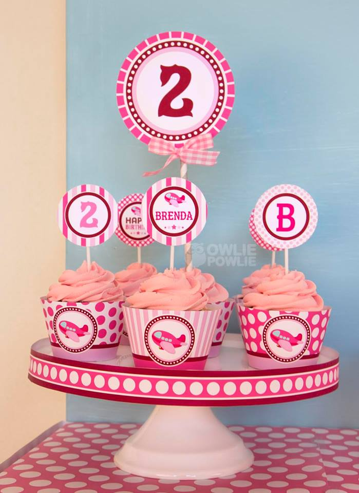 Pink Airplane Birthday Party Birthday Party Ideas Amp Themes