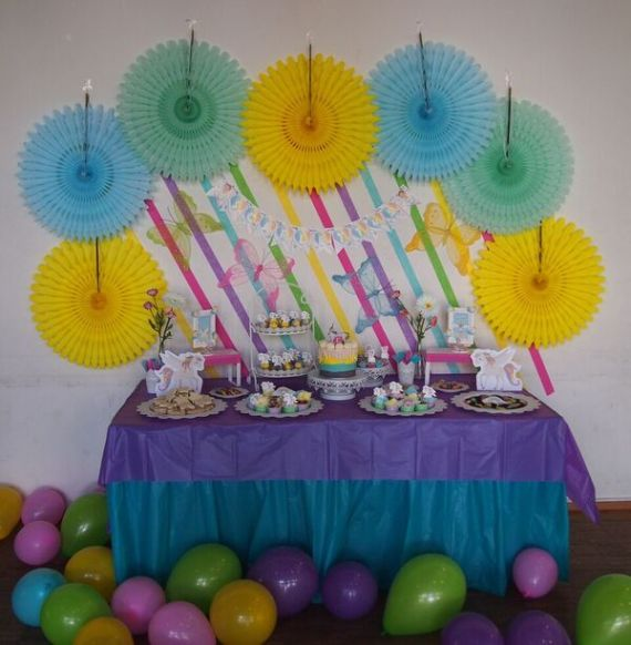 Rainbow-Unicorn-Birthday-Party-Treat-Table