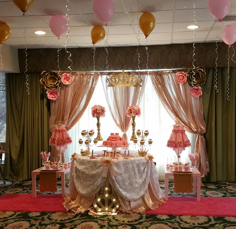 Pretty pink princess birthday party birthday party ideas for Decoration 4