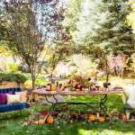 Colorful Autumn Outdoor Party