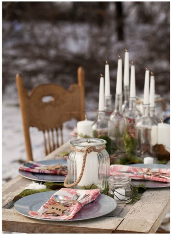 Winter-Wonderland-In-New-England-Party-Candle-Decor