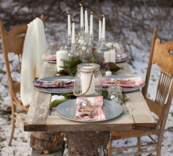 Winter-Wonderland-In-New-England-Party-Guest-Table