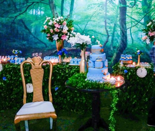 princess cinderella party decorations ideas 3d backdrop