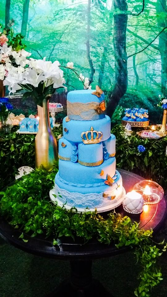 enchanted forest cinderella party
