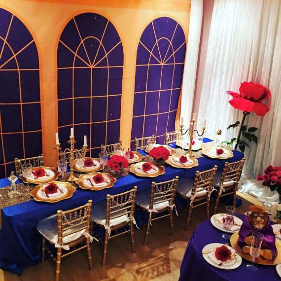 1 photos kids archives birthday party ideas shops for Beauty and beast table decorations