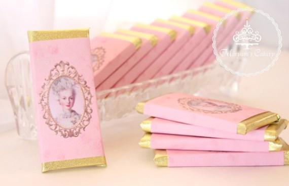 Marie-Antoinette-Vintage-Birthday-Party-Chocolates