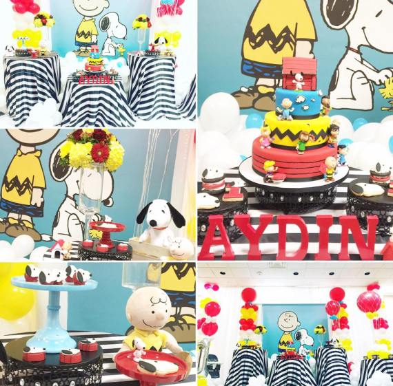 Snoopy-And-Pals-Birthday-Snack-Collage