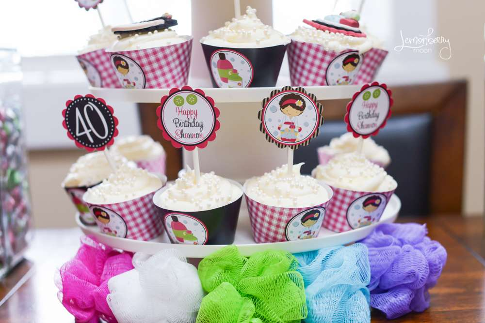 Irresistible Colorful Spa Party Birthday Party Ideas Themes