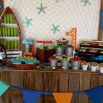 Bait Shop Birthday Table