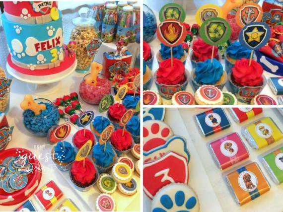 Colorful Paw Patrol Birthday