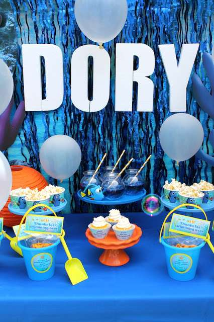 Just-Keep-Swimming-Dory-Birthday-Dessert-Table