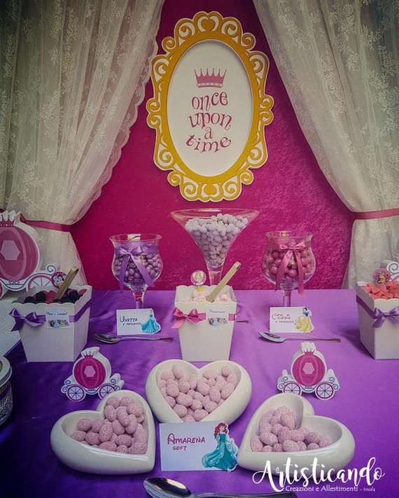 Magical-Pink-And-Purple-Twin-Celebration-Dessert-Table