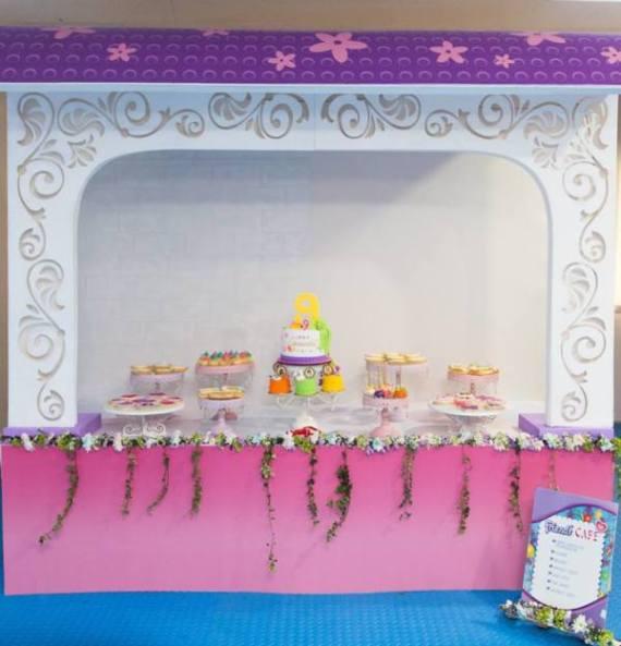 Modern-Lego-Friends-Birthday-Dessert-Buffet