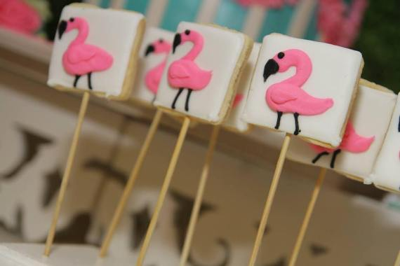 Tropical-Safari-Flamingo -Party-Cookies