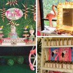 Tropical Safari Flamingo Party