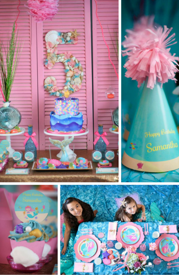 """ Under the Sea"" Mermaid Party"