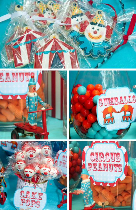 Vintage Circus Party for boys