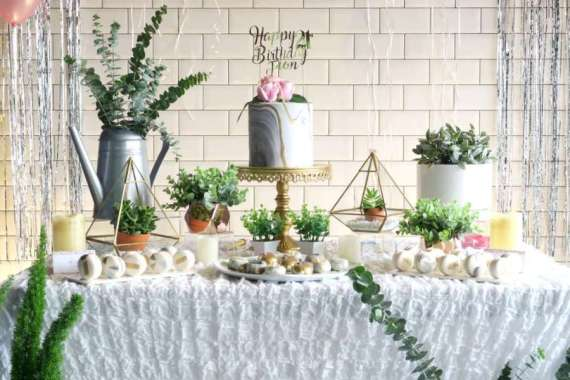 Whimsical-Marble-Birthday-Party-Dessert-Station