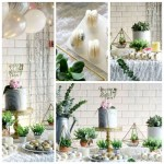 Whimsical Marble Birthday Party