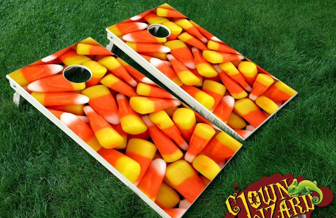 cornhole halloween game