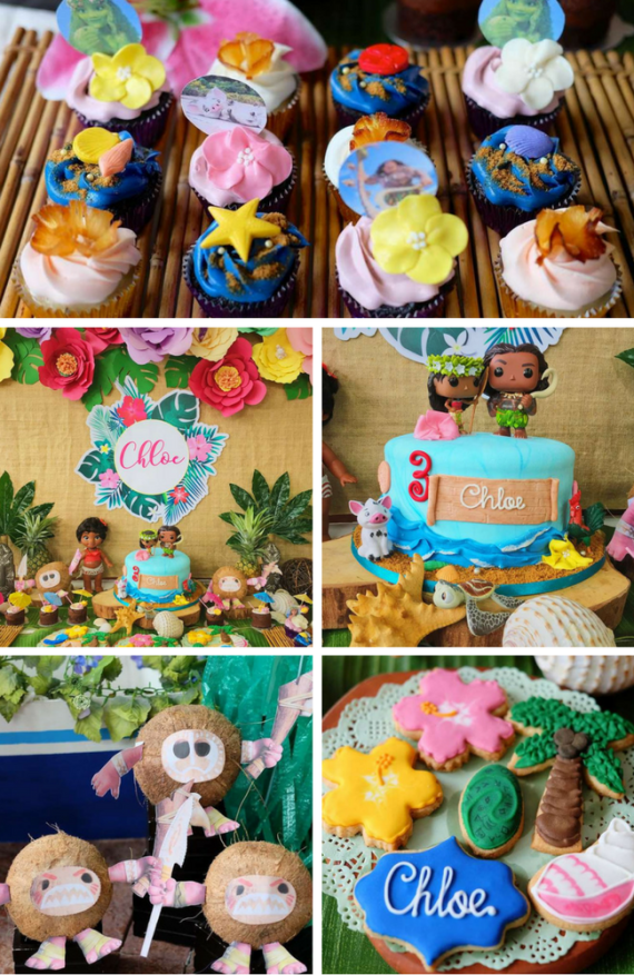 Tropical Moana Party