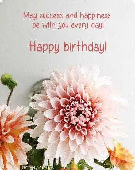 Beautiful Birthday Wishes And Warm Birthday Congratulations