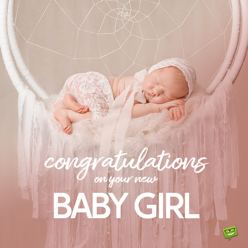 new baby girl congratulations
