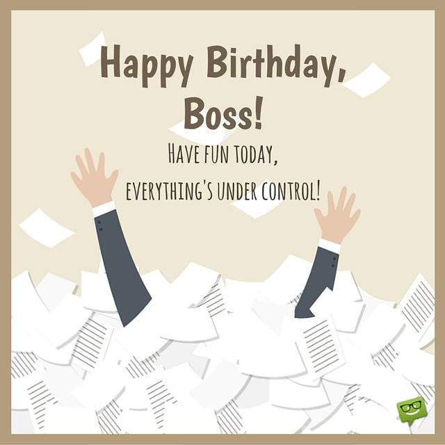 From Sweet to Funny  Birthday Wishes for your Boss - sample happy birthday email