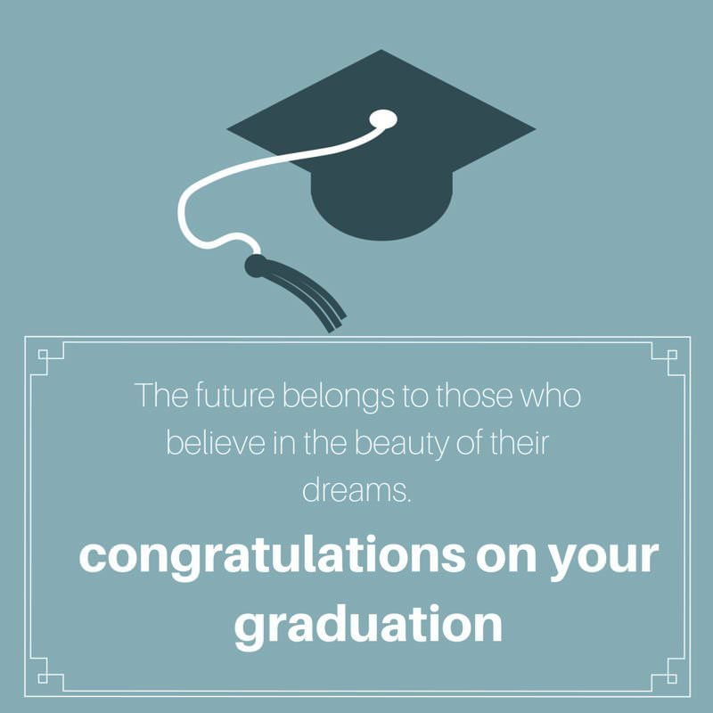 Graduation Wishes Your Academic Years are Over!