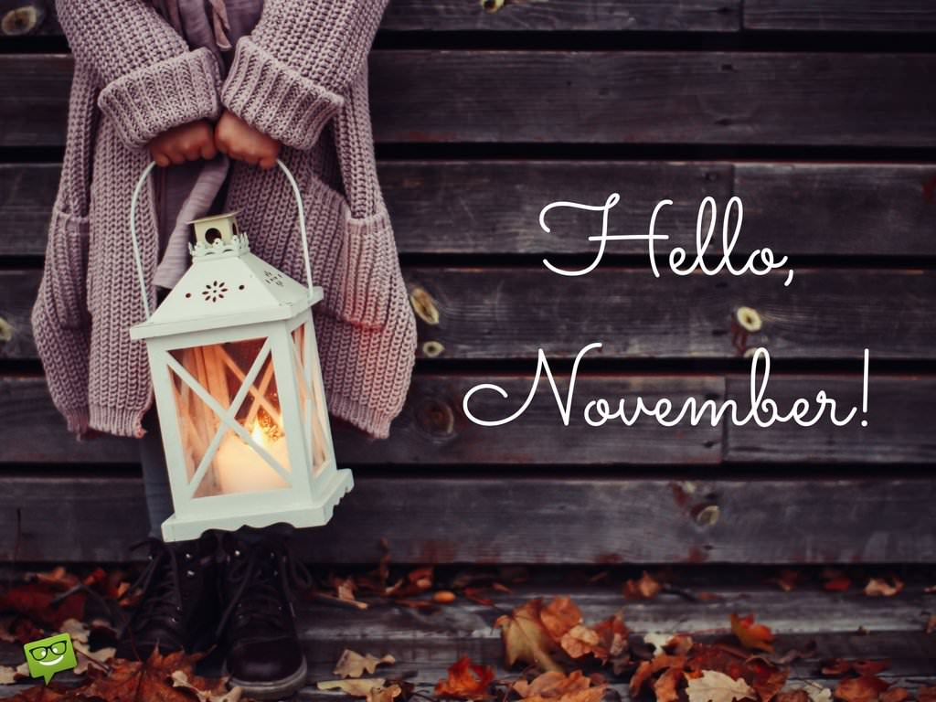 Wallpaper Hd Girl Beautiful Hello November Quotes For The Month Of Gratitude