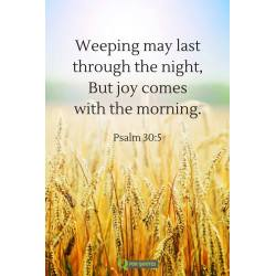 Floor Weeping May Last Through But Joy Comes Good Morning Blessings Bible Verses Scriptures About Joy Lds Scriptures About Joy To World