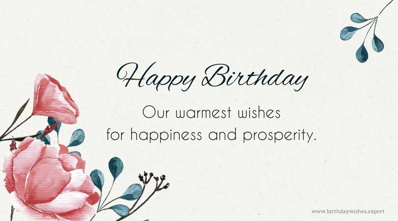 Birthday Wishes for your Clients to Show Them you Care