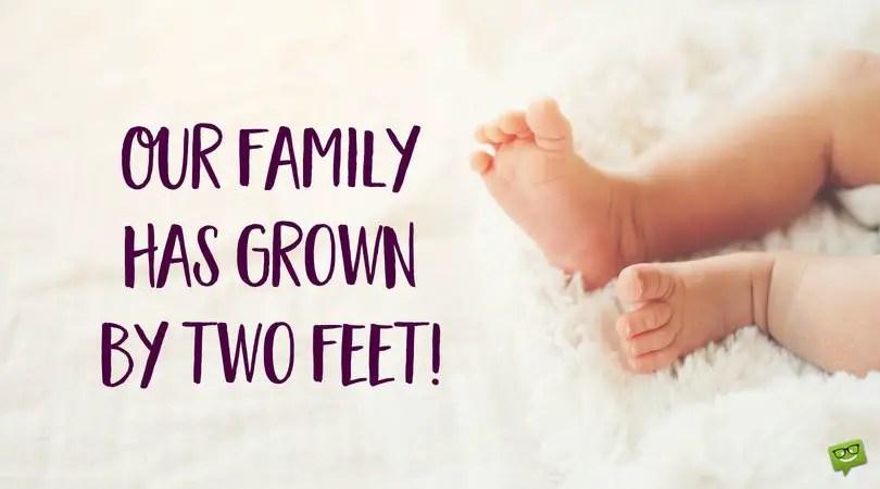 New Born Baby Status Update