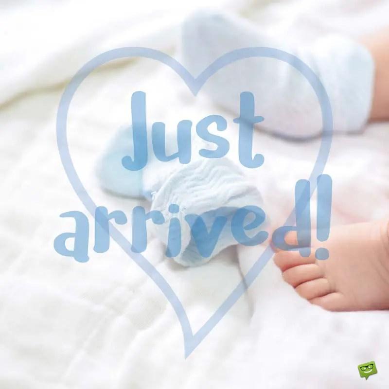 Congratulations for Baby Boy Newborn Wishes