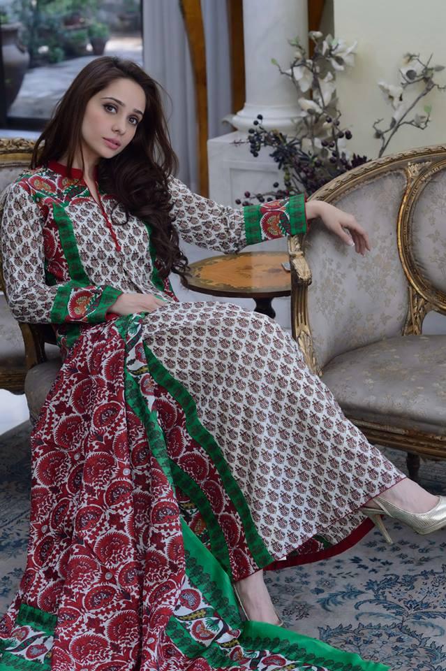 Origins latest summer lawn designs 2016 by juggan kazim for Bano market faisalabad dresses