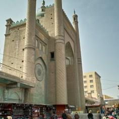 Die Heytgah Moschee in Kargilik