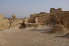 Die Ruinen von Jiaohe