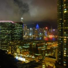 Blick aus dem Hotelzimmer.