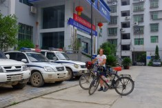 Gastfreundschaft bei Chinas Polizei