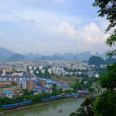 Blick über Guilin