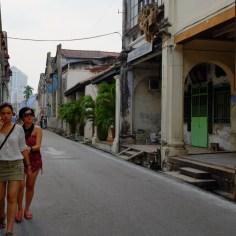 Auch chinesische Touristen lieben Penang.