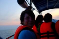 Auf dem Longboat auf die Perhentian Islands.
