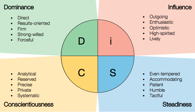 DiSC i Style Contributors Bring Balance and Energy to the Team